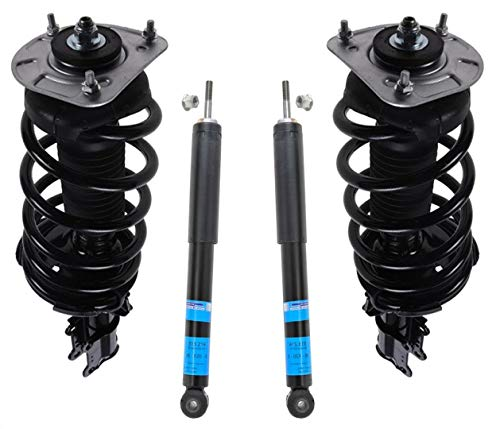 Front Complete Struts & Rear Shock Absorbers Set For 2003-2013 Volvo XC90