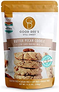 Good Dee's Butter Pecan Cookie Mix - Low Carb, Keto Friendly, Diabetic Friendly, Sugar Free, Gluten Free