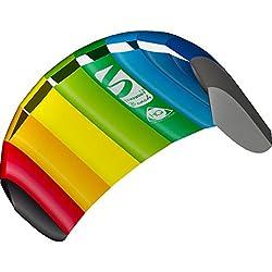 professional Dragon HQ Symphony Beach III 1.3 Stunt Kite 51inch 2 Line Sport Kite, Color: Rainbow –…