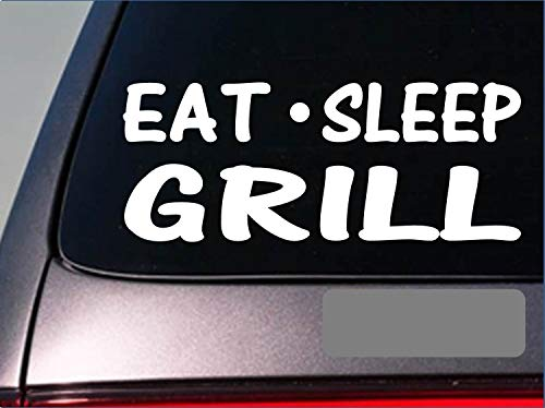 Tollyee Car Decals en Stickers Eet Sleep Grill Sticker *G908* 6