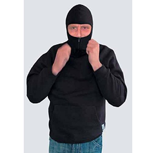 CI Sweatshirt à capuche Ninja Taille XL