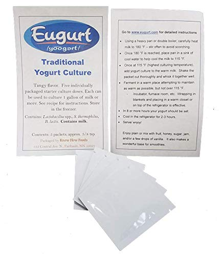Yogurt Culture - Traditional Flavor (5 Packets)