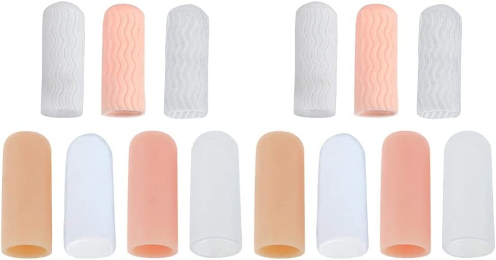 Healifty Finger Cots safety 7 Pairs Scal Max 68% OFF Anti- Support Protector