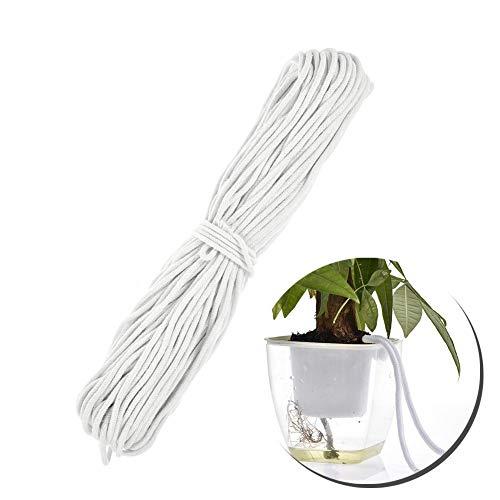 Dequate Selbstbewässerung Docht - 50M Bewässerungsseil, Tropfbewässerung Seil Für Selbst Bewässern Pflanzer Topf Automatische Bewässerung Balkon Indoor Topfpflanze