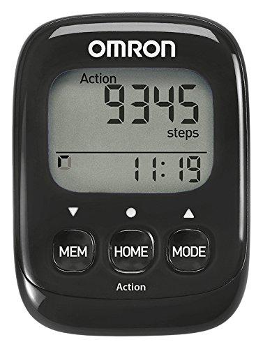 Omron Schrittzähler 4015672110335, schwarz