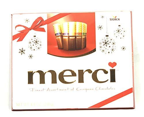 Merci Finest Assortment of European Chocolates 8.8oz Box 20 Pieces
