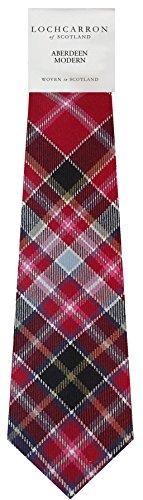 I Luv Ltd Gents Neck Tie Aberdeen Modern Tartan Lightweight Scottish Clan Tie