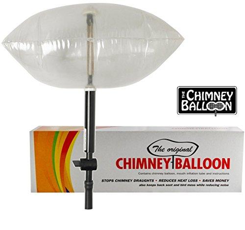 Chimney Balloon Ballon de cheminée pour cheminée de 38 x 23 cm Petit modèle