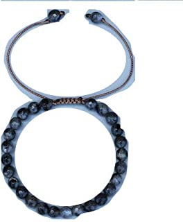 Bracelet de protection en Labradorite pierre de protection des Thérapeutes (FEMME)
