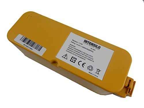 INTENSILO Baterías NiMH 4500mAh (14.4V) para aspiradoras domésticas Vileda M-488a Reinigungs-Roboter reemplaza...