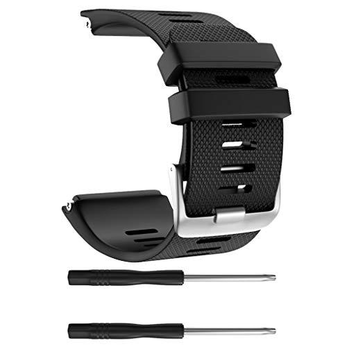 chenpaif Sostituzione Staffa Cinturino da Polso Sportivo Cinturino in Silicone per Accessori Garmin Vivoactive HR Smart Watch