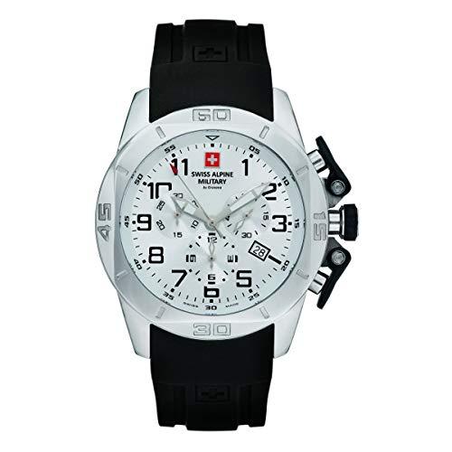 Swiss Alpine Military Herren Uhr Chrono 7063.9833SAM Silikon