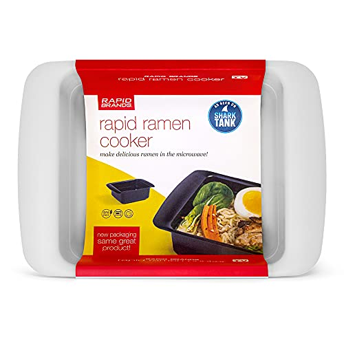 Rapid Ramen Cooker - Microwave Ramen in 3 Minutes - BPA Free and...