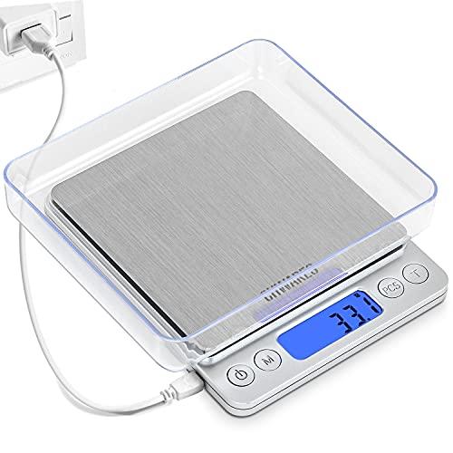 Peso Cocina Digital Precision Gramos Marca CHWARES