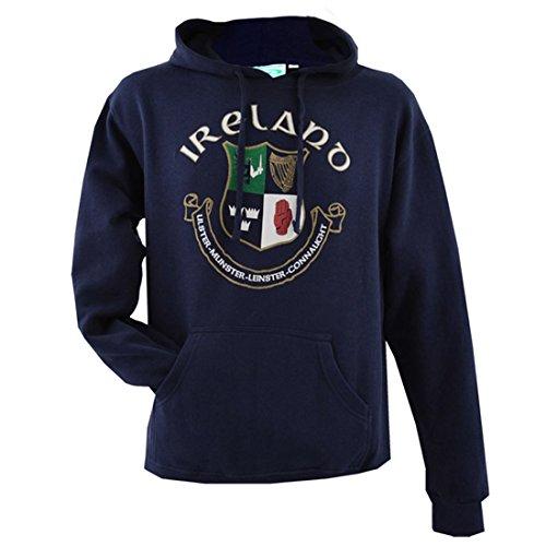 Navy Ireland 4 Province Crest Hoodie (XLarge)