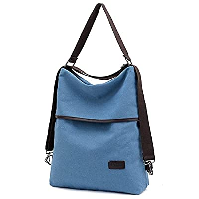 Women Backpack Purse Fashion Canvas Large Trave...