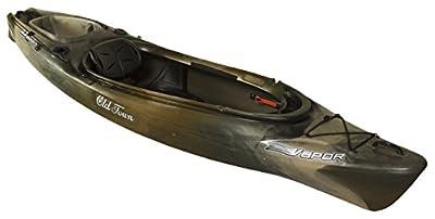 01.6400.1072 Old Town Canoes & Kayaks Vapor 10 Angler Fishing Kayak by Johnson Outdoors Watercraft
