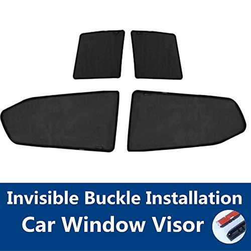 TUTU-C 4 parasoles para ventana de coche, protección UV, protección solar, protector de ventana, parasol para Honda Accord (ocho generaciones) 2008 2009 2010 2011 2012