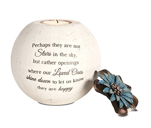 Pavilion Gift Company 19095 Stars in The Sky Candle Holder, 5-Inch, Terra...