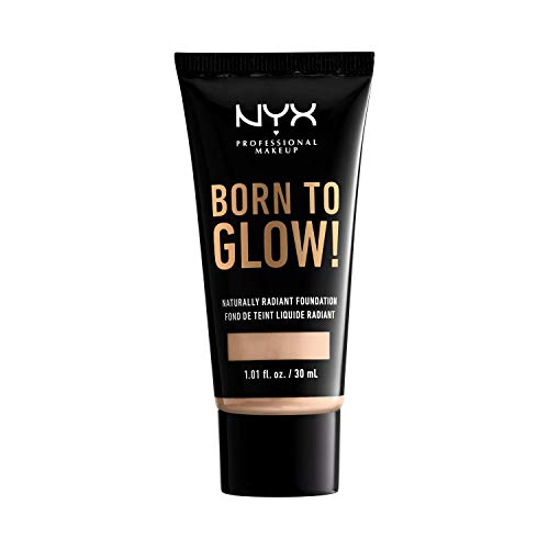 NYX PROFESSIONAL MAKEUP Born To Glow Naturally Radiant Foundation - Light Ivory With Cool Undertone