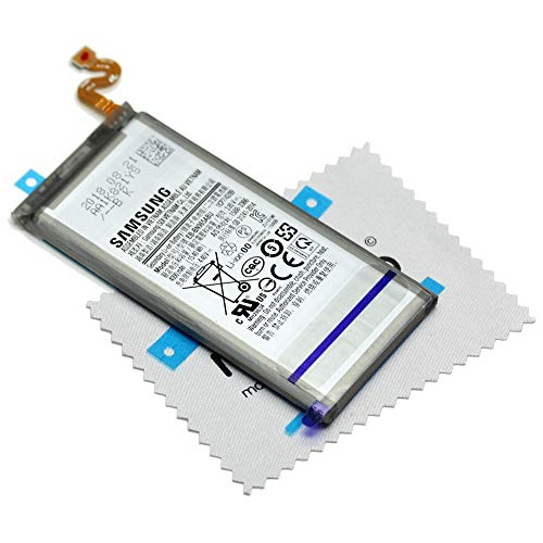 Batería para Samsung Original para Samsung Galaxy Note 9 (N960F) EB-BN960 con mungoo Pantalla paño de Limpieza