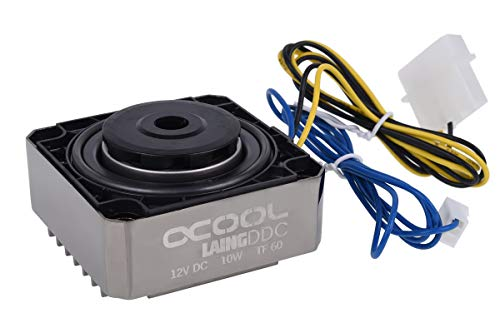 Alphacool Laing DDC Kühlgerätezubehör schwarz, Nickel (61 x 60 x, 21 mm, 331 g)