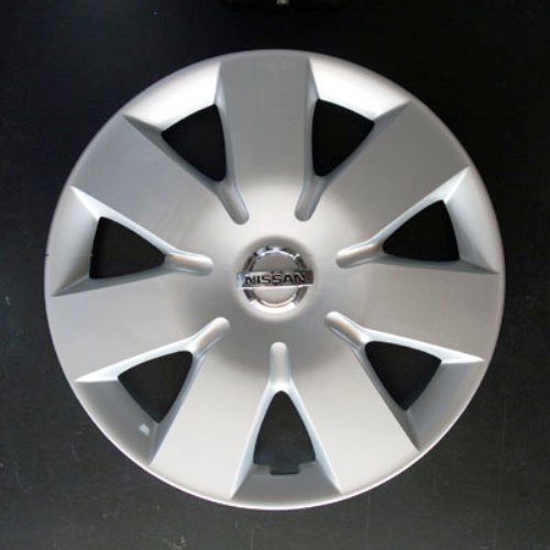 Set von 4 neuen Radkappen für Nissan Note/Micra 2002-2010 / Almera 2000-2006 / Primera 2000-2008 mit Originalfelgen in 15 Zoll