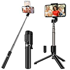 【HATE IT WHEN CARRY A HEAVY SELFIE STICK?】Yep, screwing a monopod selfie stick with a heavy tripod, is a pain. Our lightweight foldable selfie stick was designed to eliminate this to make a ordinary Selfie Stick lighter but more functional. 【HOW IS T...