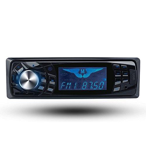 BoomBoost Autoradio numérique stéréo Bluetooth 12 V USB/FM avec écran tactile
