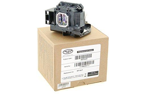 Alda PQ Reference, lampada sostituisce NP16LP, 60003120NP16LP-UM per NEC M300W, M260WS, M300XS, M300XSG, M311W, M350X, M361X, NP-P350X, NP-UM300W, M350XG proiettori, lampada con modulo