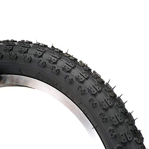 RITEWAY(ライトウェイ) キッズバイク用 ブロックタイヤ 16インチ×2.215 ブラック