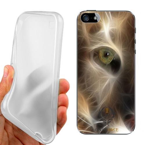 Custodia Cover Case Puma Animals per iPhone 5 5G 5S