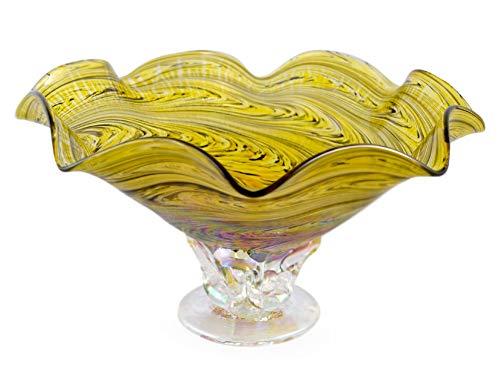 glass bowl pedestal - 3
