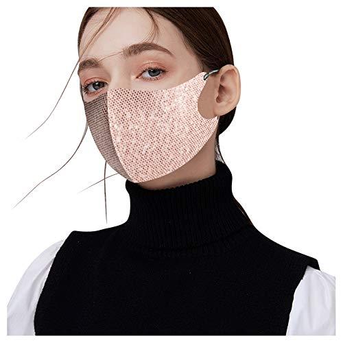 Lace Reuseable Face_Mask for Coronɑvịrus Protectịon Lace Egg Face Shield Adjustable Breathable 3 Ply Adults