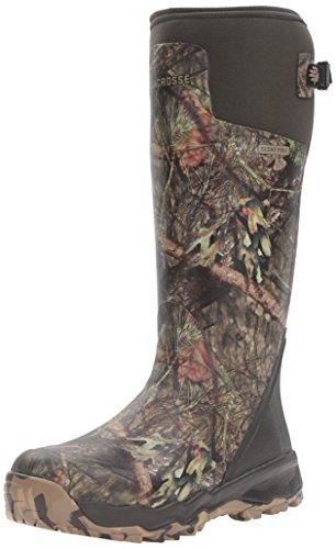 "LaCrosse Men's Alphaburly Pro 18"" Hunting Shoes, Mossy Oak Break up Country, 11 M US"