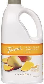 Torani Mango Real Fruit Smoothie Mix 64 Ounces | Torani