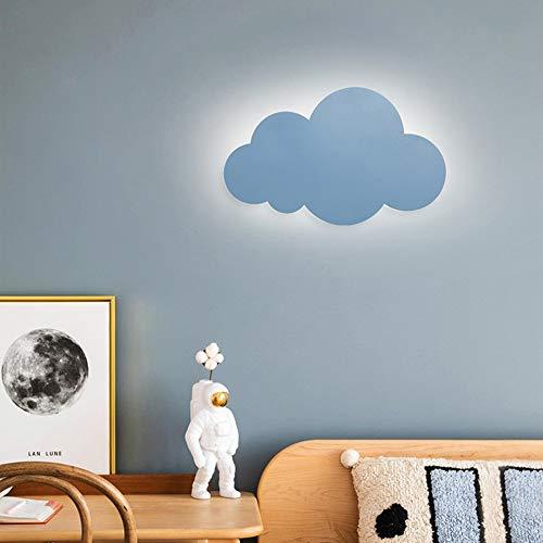 HORKEY Lampada da parete a forma di nuvola, per interni ed esterni, lampada da parete a...