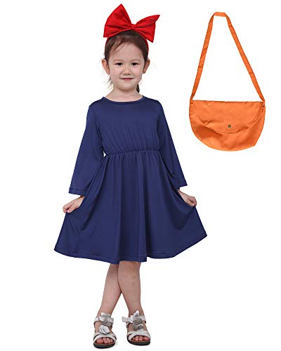Kiki Dress with Bag for Little Girls