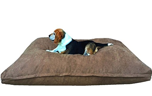 Dogbed4less Extra Large Memory Foam Dog Bed