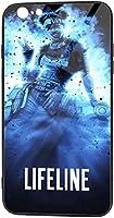 Iphone6 Plus | Iphone6s Plus 携帯ケース ガラス スマホケース A-Pex Legends Blood-Hound Tpu 全面保護カバー 背面強化ガラスの携帯保護カバー 強化ガラスケース シリコン ミラー 滑り防止 耐衝撃 おしゃれ シンプル 高級感 超薄型 可愛い イケメン 贈り物