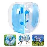 Qdreclod Pelota de Burbuja, 1.2M Bola Hinchable Pelota Humana Colisión Bubble Ball Bola de Parachoques Inflable de Zorb para los Niños y Adultos Inflatable Bumper Ball