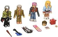 Diamond Select Toys Back to the Future: 30th Anniversary 2015 Hill Valley Minimates Box Set Action Figure [並行輸入品]
