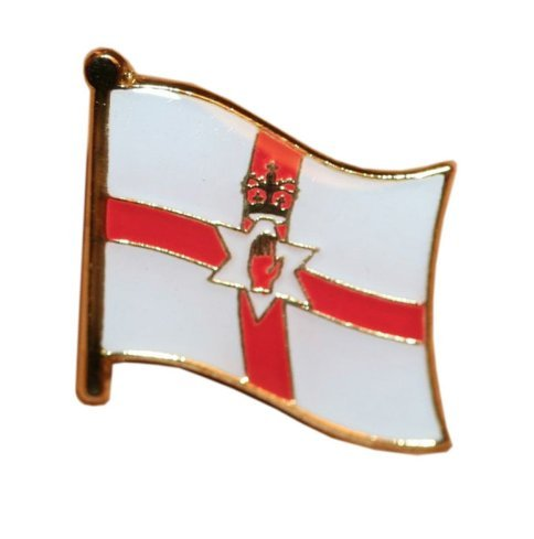 Patch Nation Noord-Ierland Vlag Metalen Pin Badge