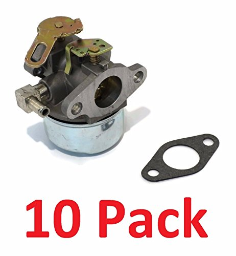 Read About The ROP Shop (10) CARBURETORS for Tecumseh 632107A HSSK40 HSSK50 HS50 LH195SA Small Engin...
