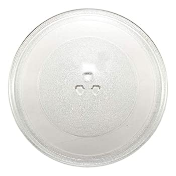 HQRP 12-inch Glass Turntable Tray fits Whirlpool W10337247 W11367904 AMV1150VAD3 AMV2174VAD6 GMH6185XVB3 IMH15XVQ4 MMV1164WW4 Microwave Oven Cooking Plate 305mm W11291538 AP6872022 PS12711337