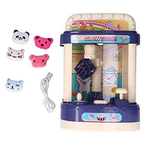 Shanrya Máquina de Garra, máquina de Garra de muñeca pequeña con música Ligera para el supermercado casero(#1, Tipo de Torre Inclinada de Pisa)