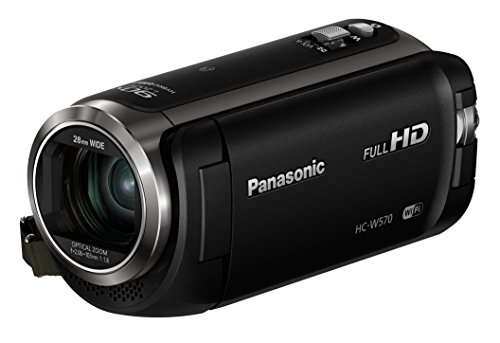 Panasonic HC-W570EB-K Full HD Camcorder with Twin Camera (50x Optical Zoom)