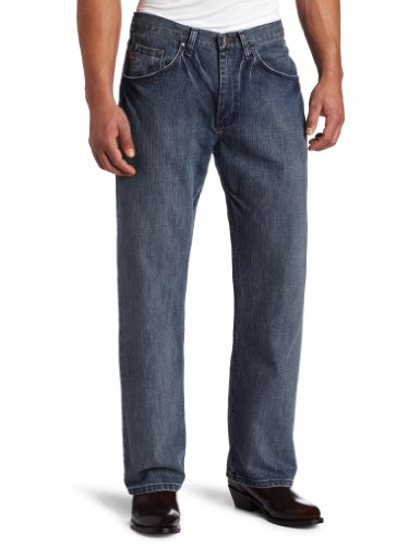 Wrangler Men's Tall 33 Extreme 20X Collection Relaxed Fit Straight Leg Jean, Blue, 32x38