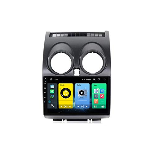 Android Autoradio 9' Pantalla Tactil para Coche HD Radio De Coche Bluetooth SWC per Nissan Qashqai J10 2006-2013 Coche Audio FM/Am/RDS Radio Video Player Bluetooth Radio Pantalla,C500