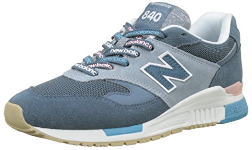 New Balance 840, Sneaker Donna, Blu (Light Petrol/Cyclone Rtc), 37.5 EU